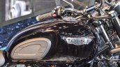 Triumph Bonneville T120 Black fuel tank at Auto Expo 2016