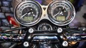 Triumph Bonneville T120 Black instrument cluster at Auto Expo 2016