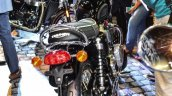 Triumph Bonneville T120 Black rear at Auto Expo 2016