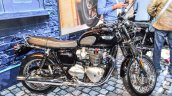 Triumph Bonneville T120 Black side at Auto Expo 2016