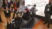 UM Renegade Classic front three quarters at Auto Expo 2016