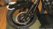 UM Renegade Classic front wheel at Auto Expo 2016