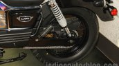 UM Renegade Classic rear suspension at Auto Expo 2016