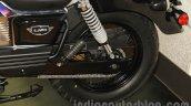 UM Renegade Classic rear suspension at Auto Expo 2016