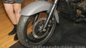 UM Renegade Commando front disc brake at Auto Expo 2016