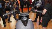 UM Renegade Commando handle bar at Auto Expo 2016