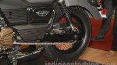 UM Renegade Commando rear wheel at Auto Expo 2016