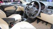 VW Ameo cockpit at Auto Expo 2016