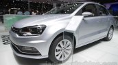 VW Ameo front three quarter left at Auto Expo 2016