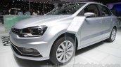 VW Ameo front three quarter left at Auto Expo 2016