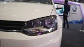 VW Ameo headlamp at the Make in India event