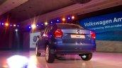 VW Ameo rear quarter angle live shot