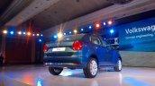 VW Ameo rear quarter live shot
