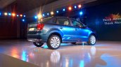 VW Ameo rear quarters live shot