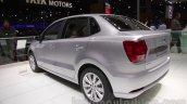 VW Ameo rear three quarter left at Auto Expo 2016