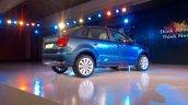 VW Ameo rear three quarter live shot