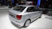 VW Ameo rear three quarter right at Auto Expo 2016