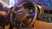 VW Ameo steering wheel unveiled