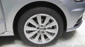 VW Ameo wheel detail at Auto Expo 2016