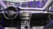 VW Passat GTE dashboard at 2016 Auto Expo