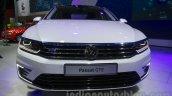 VW Passat GTE front at 2016 Auto Expo