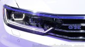 VW Passat GTE headlamp at 2016 Auto Expo