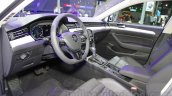 VW Passat GTE interior at 2016 Auto Expo