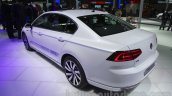 VW Passat GTE rear left three quarter at 2016 Auto Expo