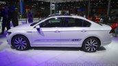 VW Passat GTE side at 2016 Auto Expo