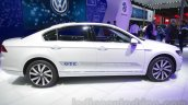 VW Passat GTE side profile at 2016 Auto Expo