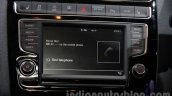 VW Polo GTI infotainment system at Auto Expo 2016
