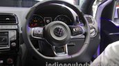 VW Polo GTI steering wheels at Auto Expo 2016
