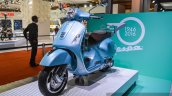 Vespa GTS 300 ABS front quarter at Auto Expo 2016