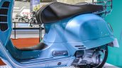 Vespa GTS 300 ABS seat at Auto Expo 2016