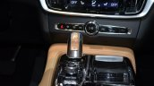 Volvo S90 floor console at the 2016 Geneva Motor Show Live