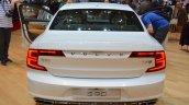 Volvo S90 rear at the 2016 Geneva Motor Show Live