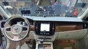 Volvo V90 dashboard at 2016 Geneva Motor Show