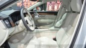 Volvo V90 front seats at 2016 Geneva Motor Show