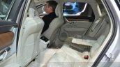 Volvo V90 rear seats at 2016 Geneva Motor Show