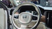 Volvo V90 steering wheel at 2016 Geneva Motor Show