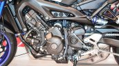 Yamaha MT-09 engine at Auto Expo 2016