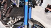 Yamaha MT-09 fork at Auto Expo 2016