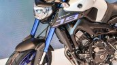 Yamaha MT-09 front half at Auto Expo 2016