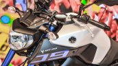 Yamaha MT-09 logo at Auto Expo 2016