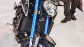 Yamaha MT-09 radiator at Auto Expo 2016