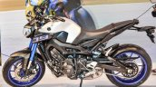 Yamaha MT-09 side at Auto Expo 2016