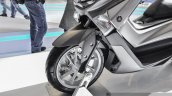 Yamaha NMax grey fork ABS at Auto Expo 2016