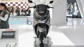 Yamaha NMax grey front at Auto Expo 2016