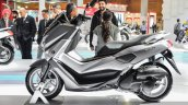 Yamaha NMax grey side at Auto Expo 2016