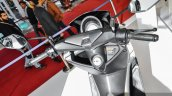 Yamaha NMax white handlebar at Auto Expo 2016